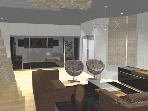 Sala de estar - Madeira demolição - Vista poltronas