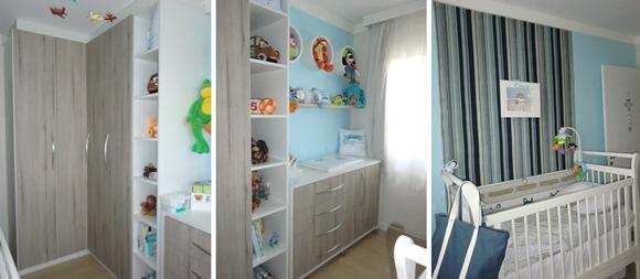 Projeto de interiores somente com móveis e decoração