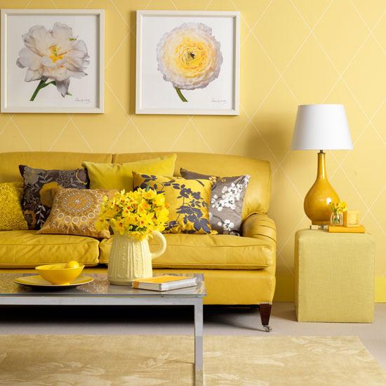 Amarelo monocromático