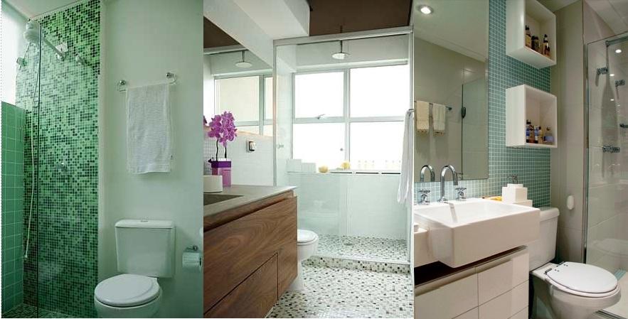 Pastilhas no banheiro - Casa e Jardim