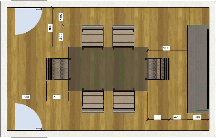 Medidas Minimas Para Sala De Estar ~  sala de jantar e estar integradas pequenaIdéias de decoração para