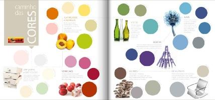 O uso das cores na decoração