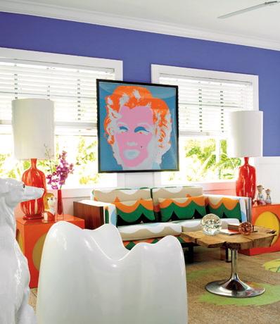 Complementar dupla - verde, azul, vermelho e laranja
