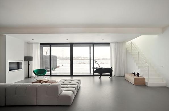 Minimalismo design de interiores jaqueline ribeiro Pisos modernos para casas minimalistas