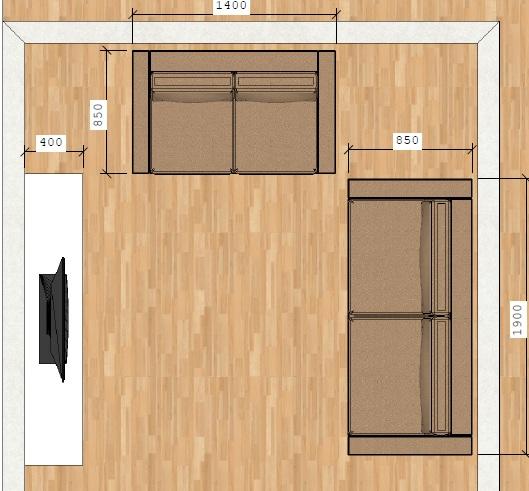 Tamanho Ideal De Tv Para Sala Pequena ~  Carmona Sala de Jantar Ideal  Metragens mínimas para o seu conforto
