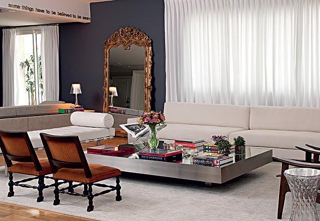 Espelho no chão - Blog Luxo Noar