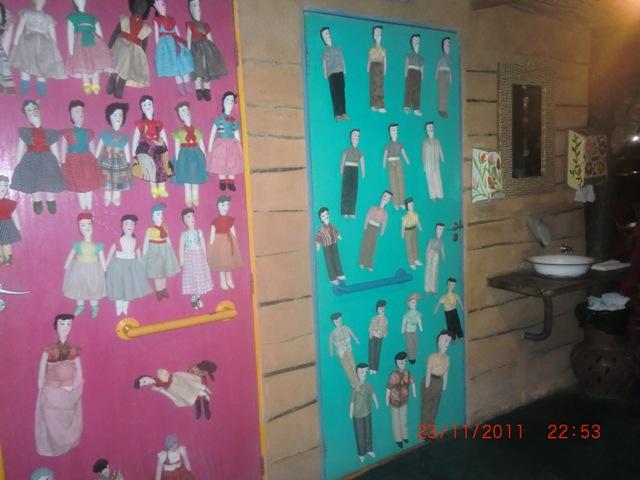 Banheiros - Casa de Taipa - Natal-RN