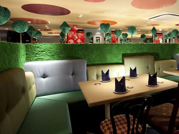 Restaurante - Alice no País das Maravilhas (Just Lia)