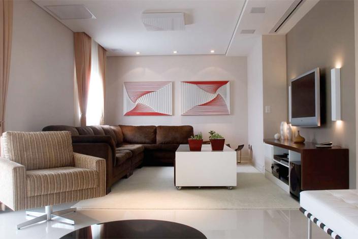 Dois quadros na parede - Portal Casa e Cia