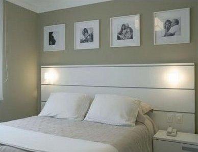 Quadros sobre a cama - Blog Arquitetura Diária