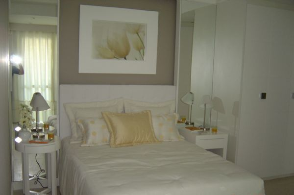 Quadro sobre a cama - Blog Arquitetura Diária