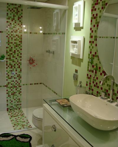 Banheiro de criança - Site Construção e Design
