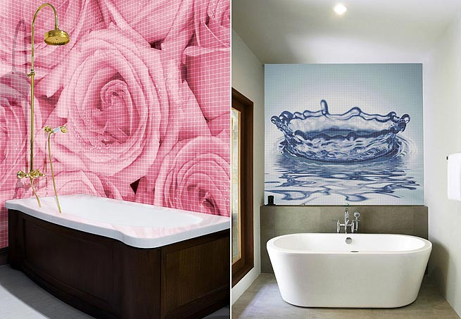 Mosaico Rosas - Casa e Jardim