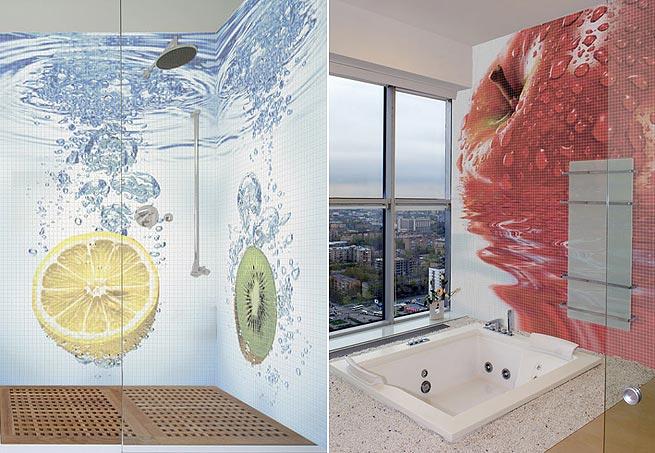 Mosaico frutas - Casa e Jardim