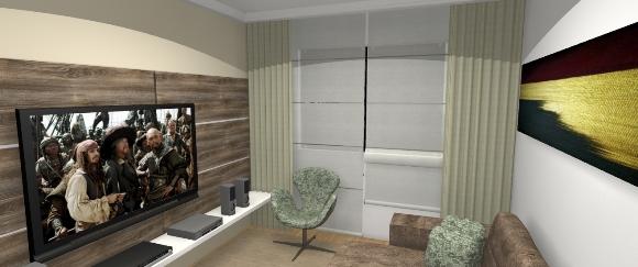 Design de interiores sala de tv