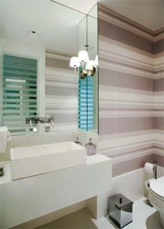 Banheiro da arquiteta Roseli Muller