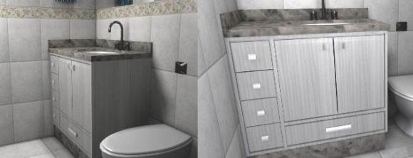 Banheiro - Projeto 3D