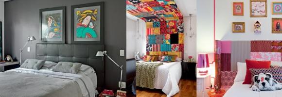Cabeceiras na decoração do quarto