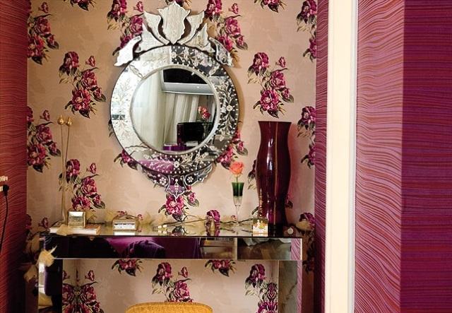 Papel-de-parede-floral-listrado