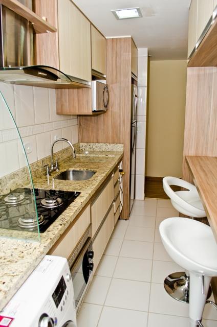 Cozinha e sala de jantar integradas - Design de Interiores