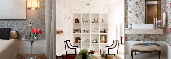 Mistura do estilo clássico ao contemporâneo na decoração
