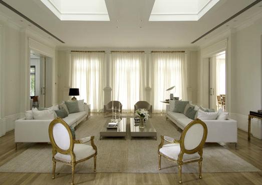 Salas De Estar Chiques E Modernas ~  é colocar poltronas clássicas na sala com decoração contemporânea
