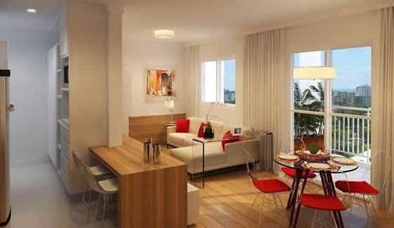 Decora o espa os pequenos design de interiores for Pisos para interiores de apartamentos
