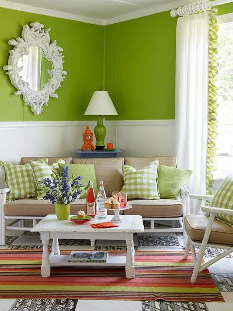 decoração-verde
