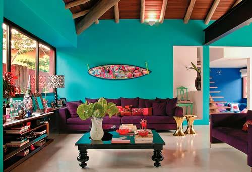 Decoração-cores-vibrantes