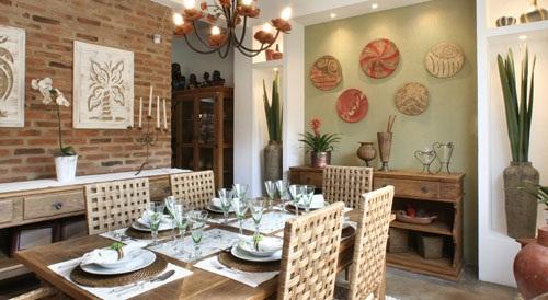 decoração-rústica-sala-de-jantar