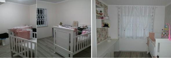 Quarto de bebê – Antes e depois