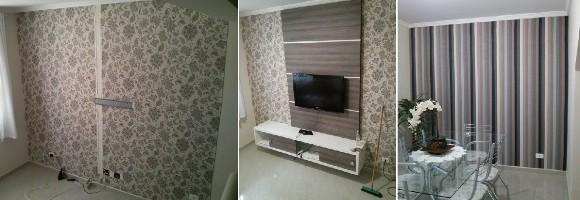Decoração com tecido na parede – Parte 2