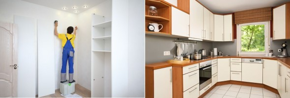 Móveis sob medida e móveis planejados
